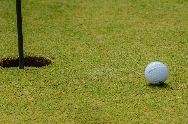 Golfing Facts – Golf Ball Close to Hole on Green
